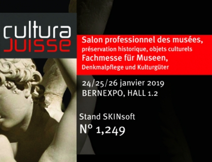 Meet SKINsoft at CULTURA SUISSE 2019